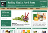 Stirling Health Food Store, Central Scotland